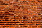 Great background made of a brick wall Stock Photo - Royalty-Free, Artist: iko                           , Code: 400-06522755