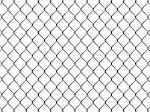 Fence from silver mesh isolated on white background Stock Photo - Royalty-Free, Artist: LostINtrancE                  , Code: 400-06524177
