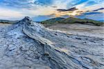 Strange landscape produced bu active mud volcanoes. Location: Buzau Romania Stock Photo - Royalty-Free, Artist: porojnicu                     , Code: 400-06524225