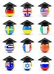 education in ukraine on a white background Stock Photo - Royalty-Free, Artist: 3desc                         , Code: 400-06527560