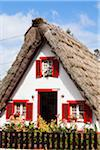 Traditional Palheiro Houses with thatched roof, Santana, Madeira, Portugal Stock Photo - Premium Rights-Managed, Artist: F. Lukasseck, Code: 700-06531511