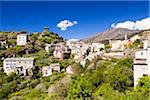 Village of Nonza with its famous watchtower, Cap Corse, Corsica, France Stock Photo - Premium Rights-Managed, Artist: F. Lukasseck, Code: 700-06531546