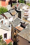 View on the roof tops, village of Nonza, Cap Corse, Corsica, France Stock Photo - Premium Rights-Managed, Artist: F. Lukasseck, Code: 700-06531547