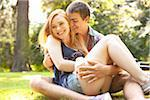 Young Couple in Park on a Summer Day, Portland, Oregon, USA Stock Photo - Premium Royalty-Free, Artist: Ty Milford, Code: 600-06531622