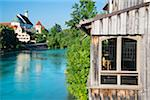 Germany, Bavaria, Swabia, Füssen, River Lech Stock Photo - Premium Rights-Managed, Artist: Siephoto, Code: 700-06531659
