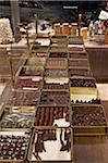 Assortment of chocolate truffles on display in candy shop, Le Bonbon Royal, Paris, France Stock Photo - Premium Rights-Managed, Artist: Michael Mahovlich, Code: 700-06531934