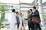 Doctors and businessmen meeting Stock Photo - Premium Royalty-Free, Artist: Blend Images, Code: 649-06532620