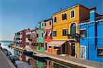 Buildings on urban canal Stock Photo - Premium Royalty-Free, Artist: Ikon Images, Code: 649-06533168