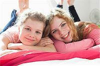 Sisters portrait Stock Photo - Premium Royalty-Freenull, Code: 653-06533749