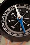 Compass Stock Photo - Premium Royalty-Free, Artist: Ikon Images, Code: 653-06534333