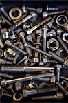 Nuts and Bolts Stock Photo - Premium Royalty-Free, Artist: photo division, Code: 653-06534463