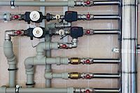 pipe (industry) - Home heating system Stock Photo - Premium Royalty-Freenull, Code: 653-06534487