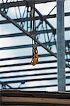 Crane Hook with construction frame in the background Stock Photo - Premium Royalty-Free, Artist: Mark Downey, Code: 653-06534509