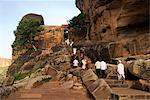 Badami Caves, India Stock Photo - Premium Royalty-Free, Artist: Blend Images, Code: 6106-06536593