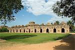 Elephant Stables, Hampi Stock Photo - Premium Royalty-Free, Artist: Siephoto, Code: 6106-06536600