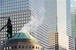 Smoke coming from urban building Stock Photo - Premium Royalty-Free, Artist: CulturaRM, Code: 614-06537427