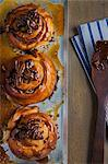 Sticky buns on cooking tray Stock Photo - Premium Royalty-Free, Artist: Cultura RM, Code: 614-06537529