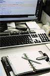 Office desk Stock Photo - Premium Rights-Managed, Artist: Aflo Relax, Code: 859-06537731