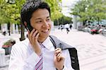 Salesman on the phone Stock Photo - Premium Rights-Managed, Artist: Aflo Relax, Code: 859-06537750