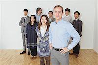 International group portrait Stock Photo - Premium Rights-Managednull, Code: 859-06537923
