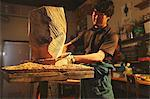 Sculptor carving wood Stock Photo - Premium Rights-Managed, Artist: Aflo Relax, Code: 859-06537960