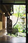 Japanese traditional house and garden Stock Photo - Premium Rights-Managed, Artist: Aflo Relax, Code: 859-06538100