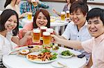 Friends drinking together Stock Photo - Premium Rights-Managed, Artist: Aflo Relax, Code: 859-06538126