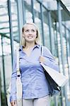 Young woman shopping Stock Photo - Premium Rights-Managed, Artist: Aflo Relax, Code: 859-06538279