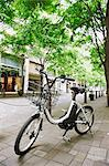 Electric Bicycle Stock Photo - Premium Rights-Managed, Artist: Aflo Relax, Code: 859-06538339