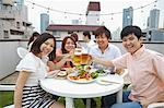 Friends drinking together Stock Photo - Premium Rights-Managed, Artist: Aflo Relax, Code: 859-06538406