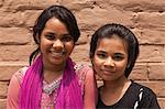 Bangladesh, Dhaka. Young girls in Dhaka. Stock Photo - Premium Rights-Managed, Artist: AWL Images, Code: 862-06540775