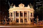 The Theatro Municipal of Rio de Janeiro is located in Cinelandia in the city center of Rio de Janeiro, Brazil Stock Photo - Premium Rights-Managed, Artist: AWL Images, Code: 862-06540812