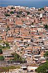 Brazil, Bahia, Salvador, A favela, slum community, in the centre of the Brazilian city of Salvador Stock Photo - Premium Rights-Managed, Artist: AWL Images, Code: 862-06540832