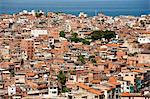 Brazil, Bahia, Salvador, A favela, slum community, in the centre of the Brazilian city of Salvador Stock Photo - Premium Rights-Managed, Artist: AWL Images, Code: 862-06540834