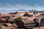 South America, Brazil, Maranhao, Sao Luis, view of the old Portuguese colonial centre looking across the Baia de Sao Marcos towards Sao Marcos beach Stock Photo - Premium Rights-Managed, Artist: AWL Images, Code: 862-06540907