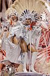 South America, Rio de Janeiro, Rio de Janeiro city, costumed dancers at carnival in the Sambadrome Marques de Sapucai Stock Photo - Premium Rights-Managed, Artist: AWL Images, Code: 862-06540931
