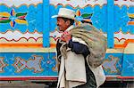Indian market,Silvia,Guambiano Indians,Colombia,South America Stock Photo - Premium Rights-Managed, Artist: AWL Images, Code: 862-06541090