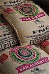 Bags of coffee in Buenavista, Colombia, South America Stock Photo - Premium Rights-Managed, Artist: AWL Images, Code: 862-06541118