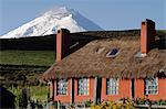 Cotopaxi rearing above Hacienda El Porvenir, Ecuador Stock Photo - Premium Rights-Managed, Artist: AWL Images, Code: 862-06541258