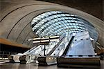 Europe, England, London, Canary Wharf, Underground Station Stock Photo - Premium Rights-Managed, Artist: AWL Images, Code: 862-06541339