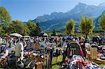 Europe, France, French Alps, Haute Savoie, Chamonix, market day Stock Photo - Premium Rights-Managed, Artist: AWL Images, Code: 862-06541579