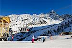 Europe, France, French Alps, Haute Savoie, Chamonix, Argentiere and Grand Montet ski area Stock Photo - Premium Rights-Managed, Artist: AWL Images, Code: 862-06541607
