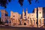 The Palais des Papes is one of the largest and most important medieval Gothic buildings in Europe, Avignon, France Stock Photo - Premium Rights-Managed, Artist: AWL Images, Code: 862-06541694