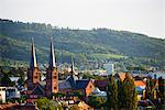 Europe, Germany, Freiburg, Baden Wurttemberg, church and town buildings Stock Photo - Premium Rights-Managed, Artist: AWL Images, Code: 862-06541788