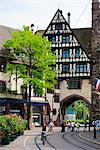 Europe, Germany, Freiburg, Baden Wurttemberg, old town city gate Stock Photo - Premium Rights-Managed, Artist: AWL Images, Code: 862-06541800