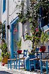 Greece, Kos, Southern Europe. A typically decorated house Stock Photo - Premium Rights-Managed, Artist: AWL Images, Code: 862-06541851
