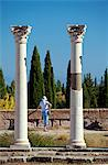 Greece, Kos, Southern Europe, Columns in the Ancient Greek city of Askleipion Stock Photo - Premium Rights-Managed, Artist: AWL Images, Code: 862-06541883