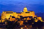 Europe, Hungary, Budapest, Royal Palace, Unesco Banks of the Danube World Heritage Site Stock Photo - Premium Rights-Managed, Artist: AWL Images, Code: 862-06541902