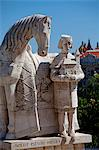 Hungary, Budapest, Central & Eastern Europe, Sculpture in the city Stock Photo - Premium Rights-Managed, Artist: AWL Images, Code: 862-06541914