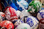 Hungary, Budapest, Central & Eastern Europe, Painted eggs as souvenirs from the city Stock Photo - Premium Rights-Managed, Artist: AWL Images, Code: 862-06541923